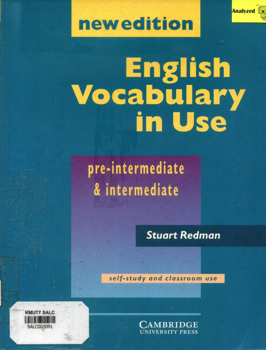 English Vocabulary in Use 1: New Edition