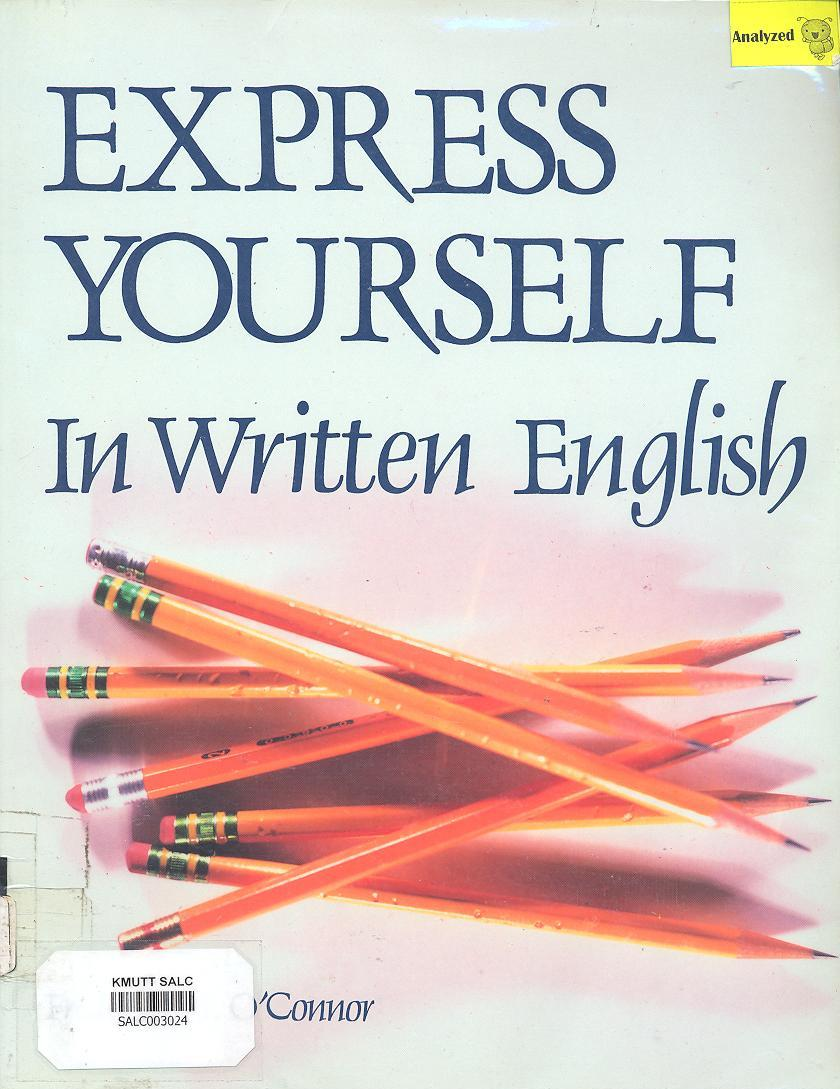 Express Yourself in Written English