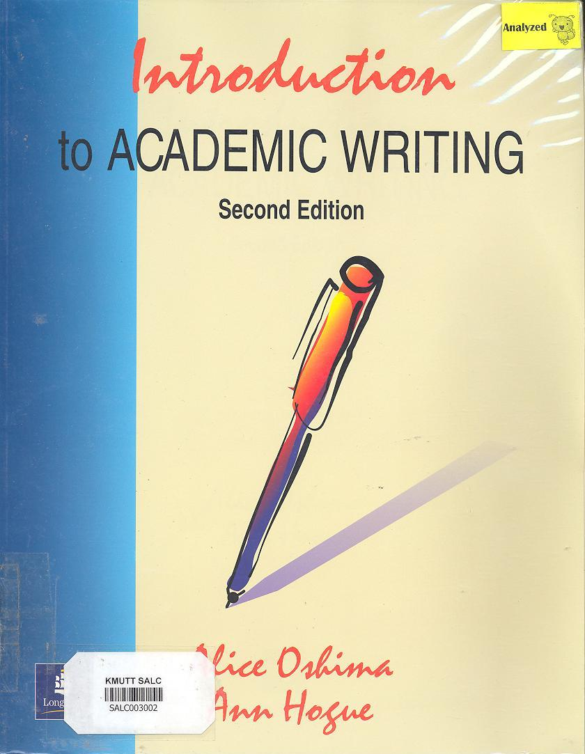 Introduction to Academic Writing: Second Edition