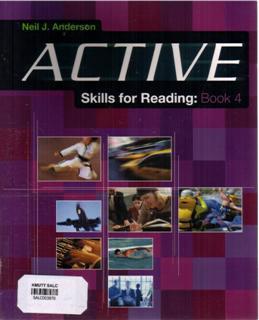 Active Skills for Reading: Book 4